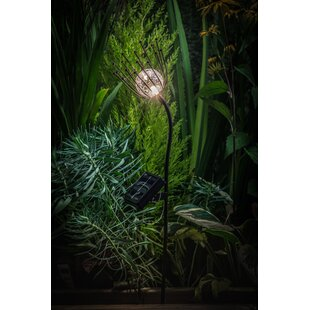 Fonseca Solar Crackle Ball 1 Light LED Pathway Lights By Bloomsbury Market