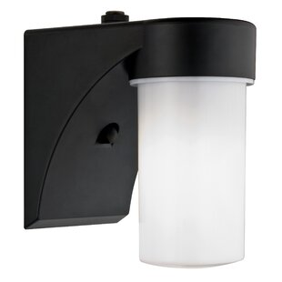 Lithonia Lighting Cylinder Dusk to Dawn Outdoor Security Wall Pack