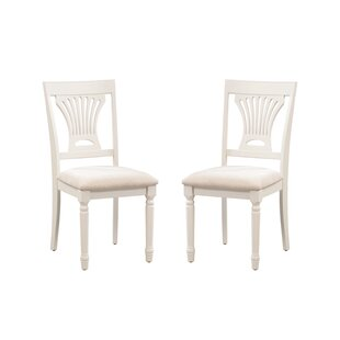 Low priced Whittaker Solid Wood Dining Chair (Set of 2) by Rosecliff Heights Reviews (2019) & Buyer's Guide