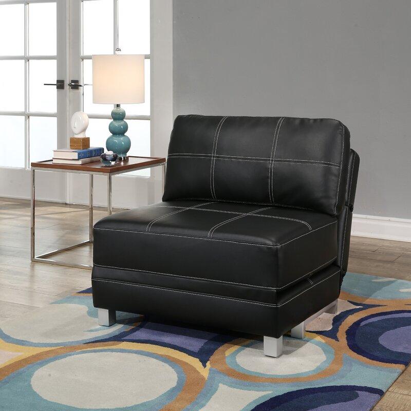 windle convertible futon chair latitude run windle convertible futon chair  u0026 reviews   wayfair  rh   wayfair