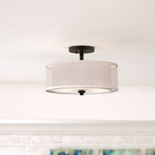 Mercury Row Bensenville 3-Light Semi Flush Mount