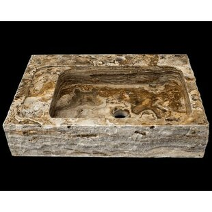 Polaris Sinks Onyx Rectangular Vessel Bathroom Sink