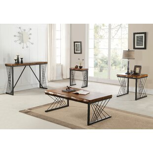 Sonora 3 Piece Coffee Table Set