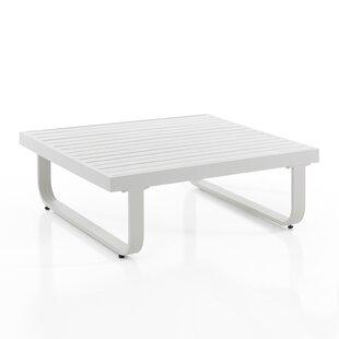 Silas Aluminium Coffee Table By Brayden Studio