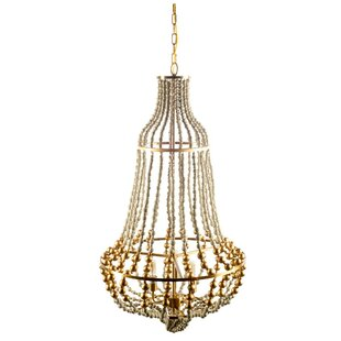 Bungalow Rose Shailene 3-Light Chandelier