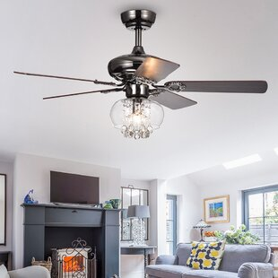 Hampton bay ceiling fan wayfair 42 lake macquarie crystal 5 blade ceiling fan aloadofball Images