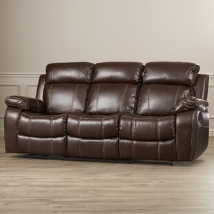 Darby Home Co Chestnut Reclining Sofa