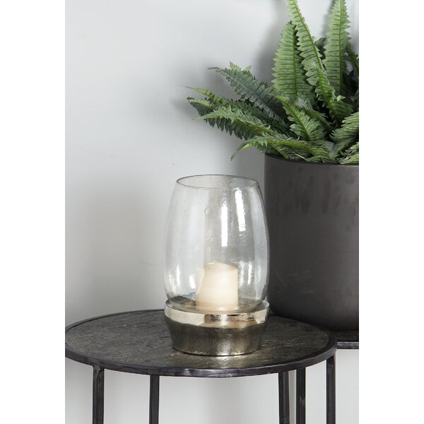 Cosmoliving By Cosmopolitan Traditional Glass Hurricane Wayfair