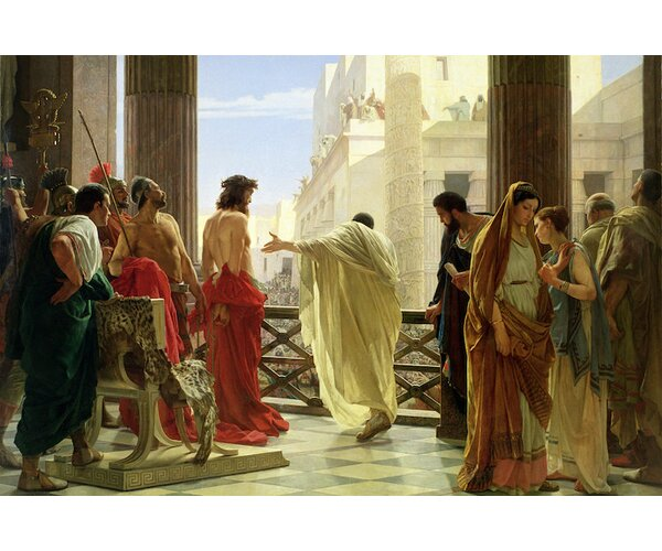 Icanvas Ecce Homo By Antonio Ciseri Painting Print On
