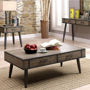 Dupont Coffee Table with Storage by Corrigan Studio
