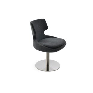 Elrod Swivel Upholstered Dining Chair Orren Ellis
