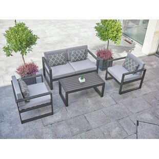 Ithaca 4 Seater Sofa Set By Sol 72 Outdoor
