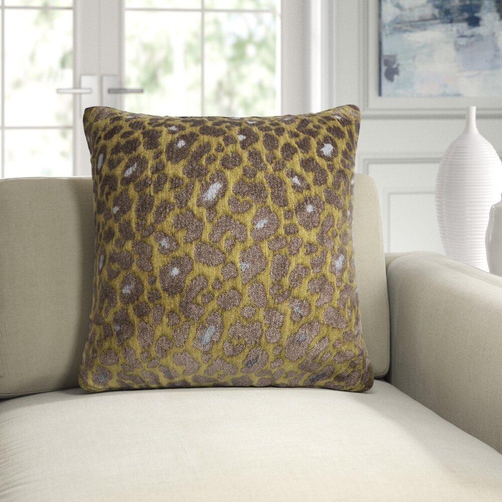 Michael Amini Distinctive Bedding Designs Square Pillow Cover And Insert Reviews Perigold
