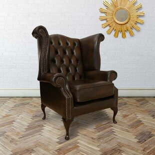 Charlemont Scroll Wingback Chair By Ophelia & Co.