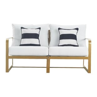 Mirabelle Patio Sofa with Cushion