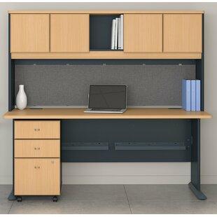 Bush Business Furniture Series A 3 Piece Desk Office Suite