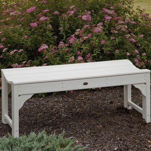 Traditional Plastic Garden Bench