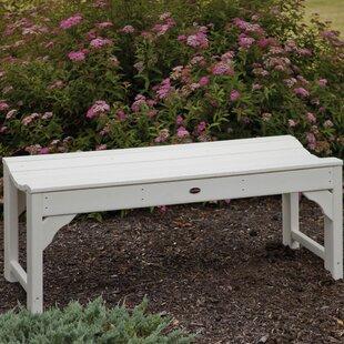 Traditional Plastic Garden Bench
