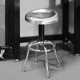 Adjustable Height Swivel Bar Stool by Seville Classics Inc.