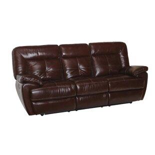 Red Barrel Studio Doegolia Leather Power Reclining Sofa