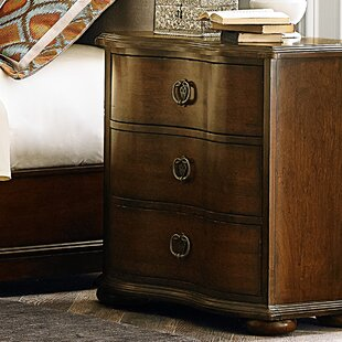 Darby Home Co Elwood 3 Drawer Bachelor's Nightstand
