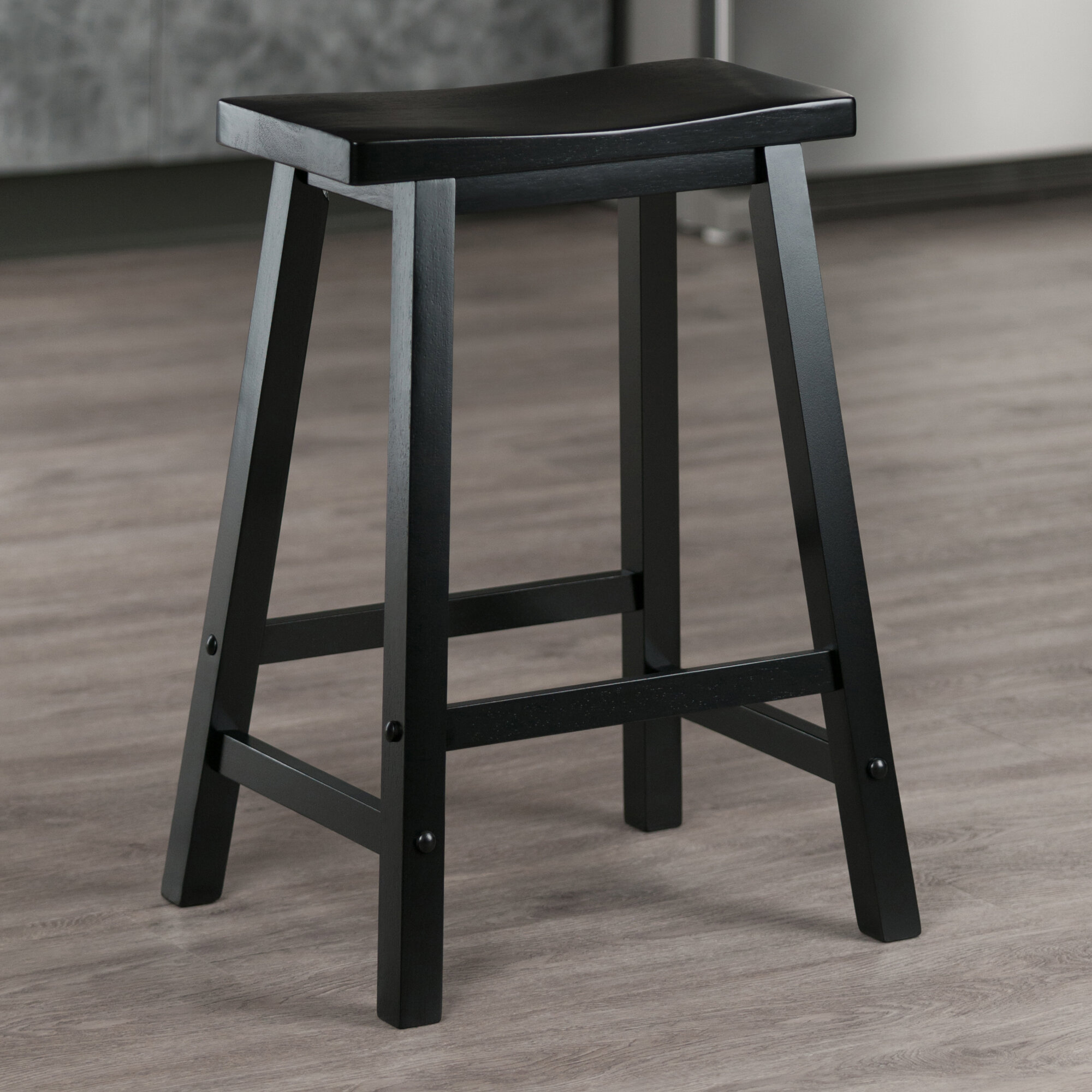 Picture of: Black Wood Bar Stools Counter Stools You Ll Love In 2020 Wayfair