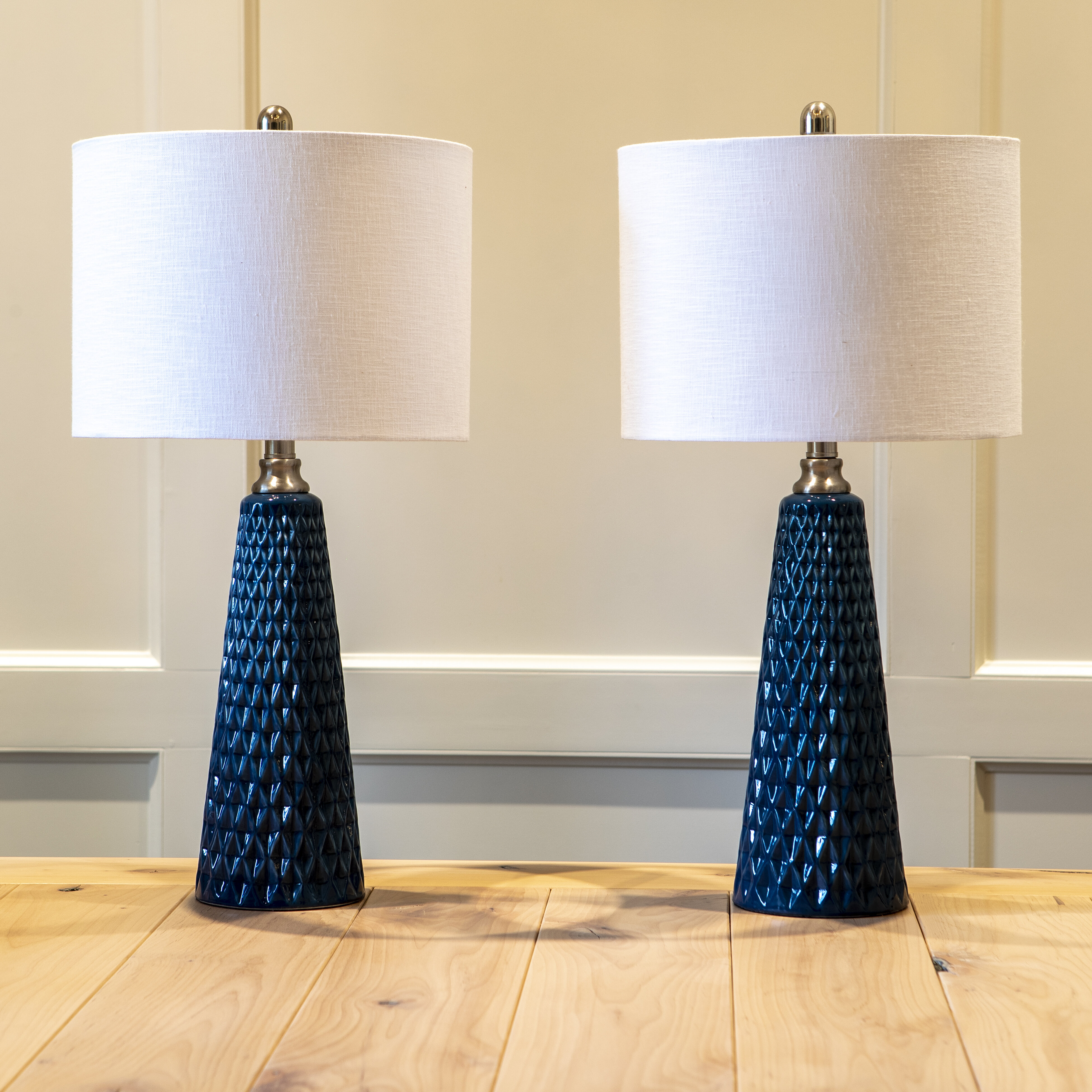 Blue Table Lamps You Ll Love In 2020 Wayfair