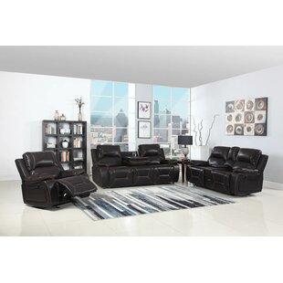 Red Barrel Studio Trower Reclining  3 Piece Living Room Set