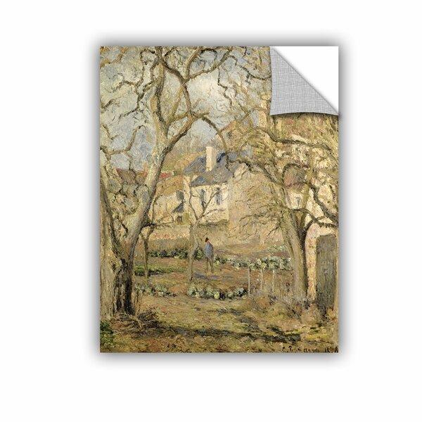 Artwall Bridgeman Camille Pissarro The Vegetable Garden 1878 Wall Decal Wayfair