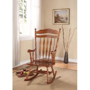 Check Prices Ricker Rocking Chair by August Grove Reviews (2019) & Buyer's Guide