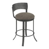 Barefield Bar & Counter Swivel Stool by Gracie Oaks