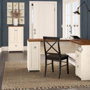 Oakridge 2 Piece L-shaped Desk Office Suite