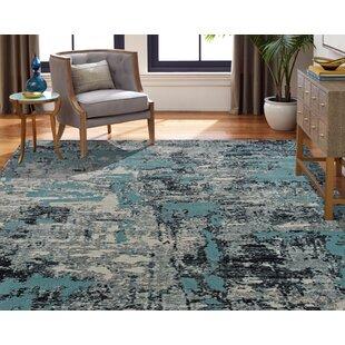 Rayleigh Blue/Gray Indoor/Outdoor Area Rug
