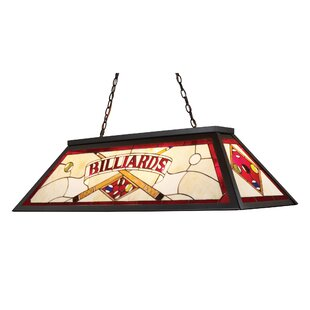 Red Barrel Studio Swarthout 3-Light Billiard Light