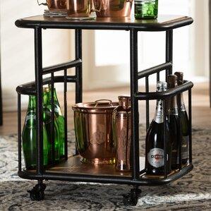 Baxton Studio Cynthia Bar Cart by Wholesa..