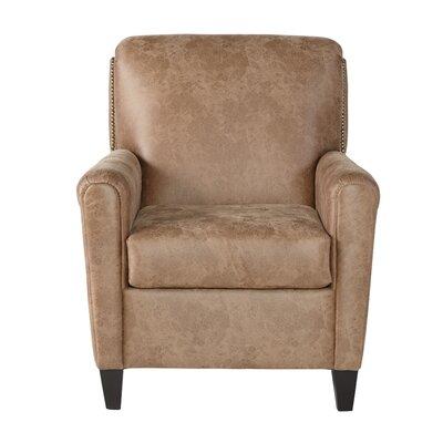"Hammitt Armchair Upholstery: Jetson Ginger, Size: 40"" H x 31"" W x 40"" D"