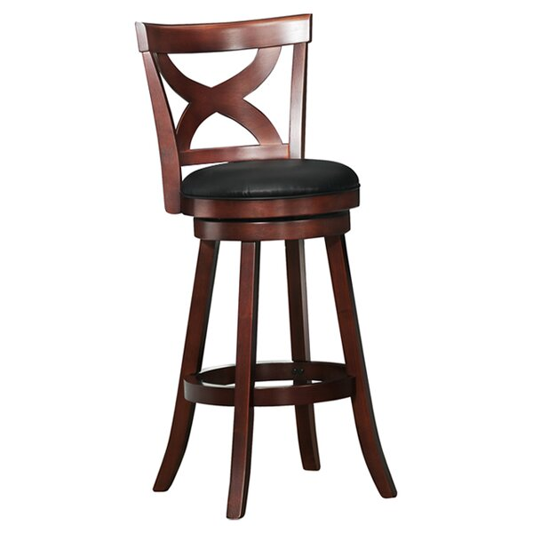 Three Posts Burslem 29 Swivel Bar Stool Reviews Wayfair