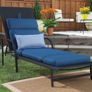 Highland Dunes Indoor/Outdoor Sunbrella Chaise Cushion