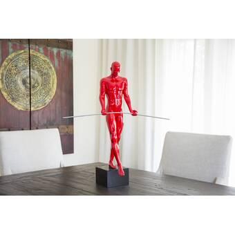 Bloomsbury Market Boggs Sensuality Man Statue Wayfair