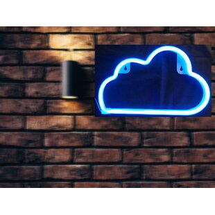 Cloud Soft Neon Wall Light By Turn on the Brights