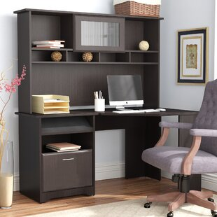 Hillsdale Corner Computer Desk with Hutch