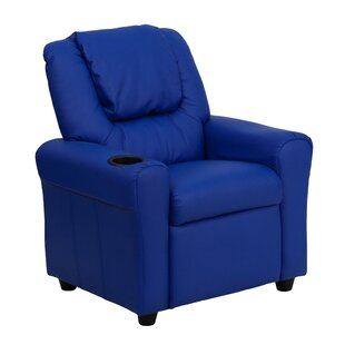 Candy Kids Recliner with Cup Holder By Zoomie Kids