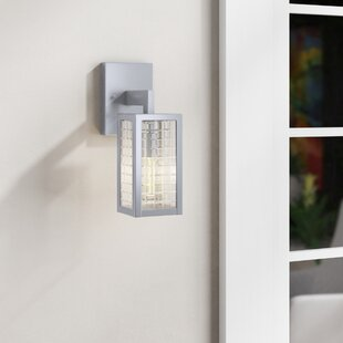 Wade Logan Calne 1-Light Outdoor Wall Lantern