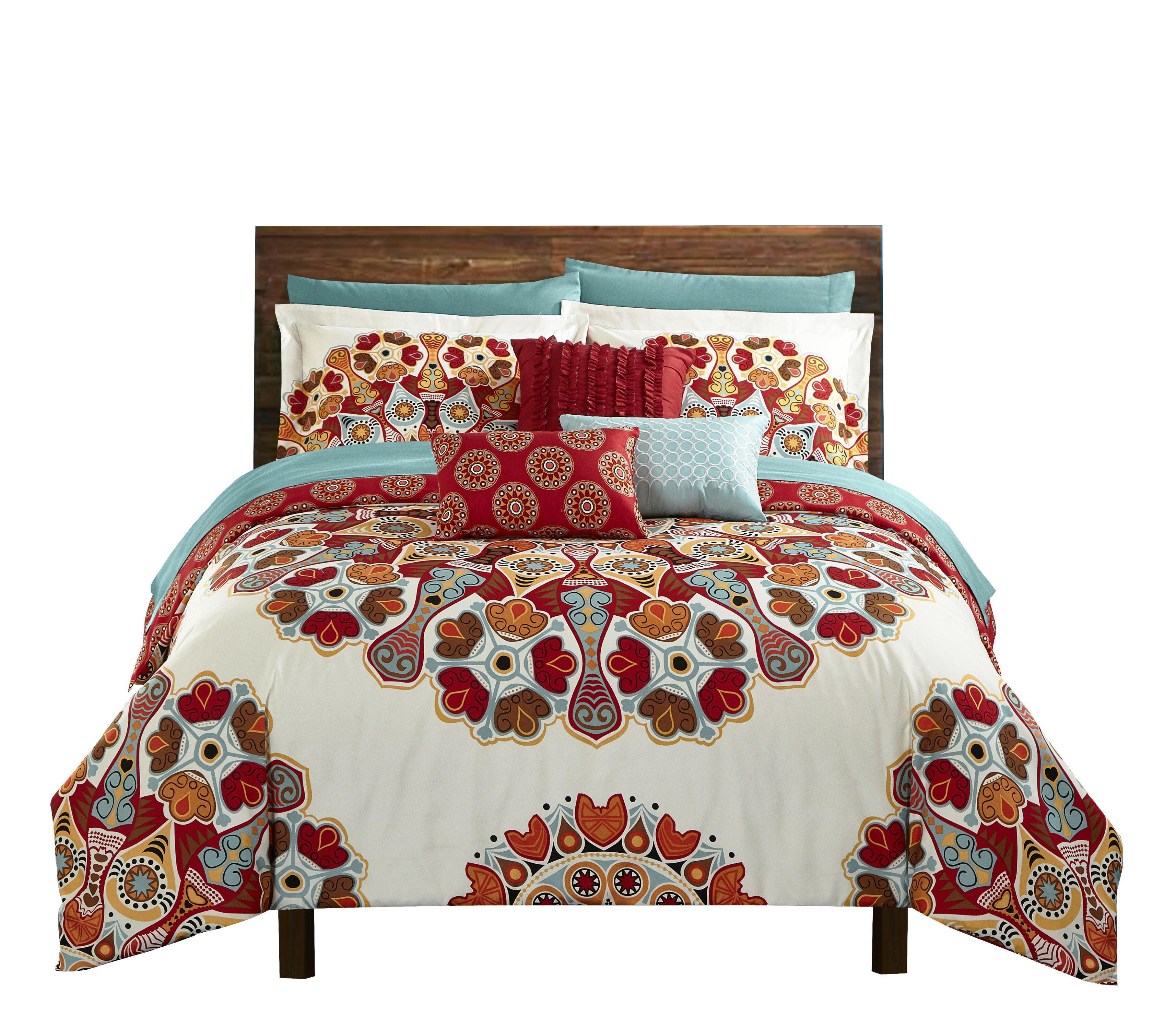 Latitude Run Chasville Reversible Comforter Set Reviews Wayfair