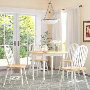 Cecelia 5 Piece Dining Set Alcott Hill