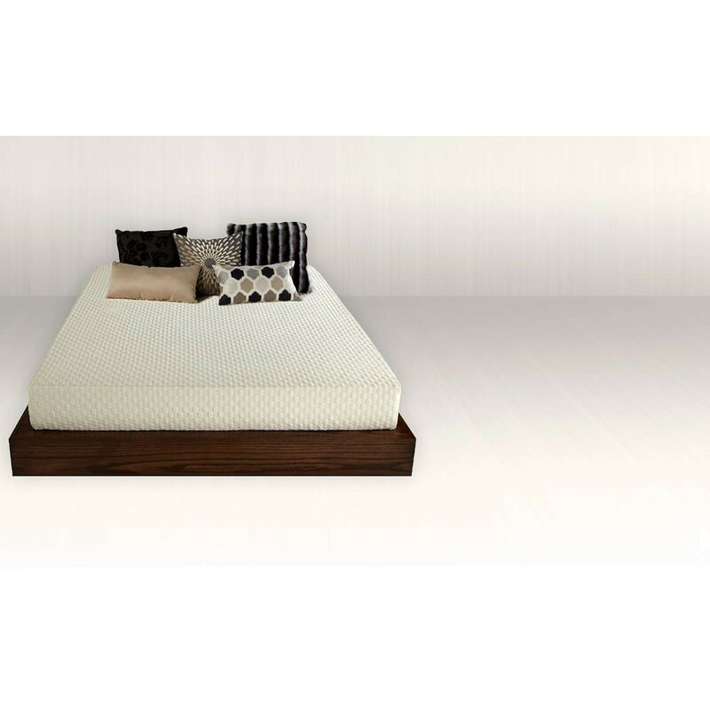 "White Noise Deluxe 8"" Medium Memory Foam Mattress 
