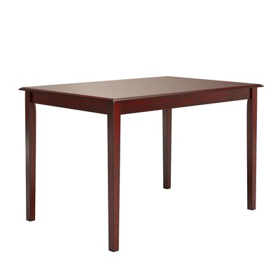 "Oneill Dining Table Color: Antique Berry, Size: 48W x 32D x 30""H by Andover Mills"