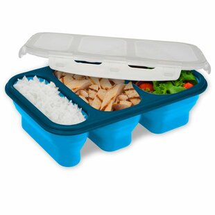 Portion Perfect Meal 36 Oz. Food Storage Container