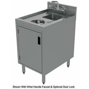 18 x 21 Free Standing Handwash Station with Faucet by Advance Tabco