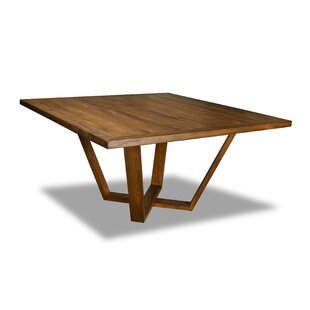 Ivy Bronx Macarthur Solid Wood Dining Table